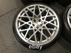 18 ROTIFORM BLQ ALLOY WHEELS 5x100 VW GOLF MK4 POLO 9N 6R SEAT SKODA TDI GTI