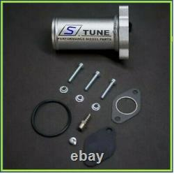 1.9tdi Egr Deletes Kit 51mm Race Pipe Silicone Elbow Pd100 Pd115 Mk4 Golf