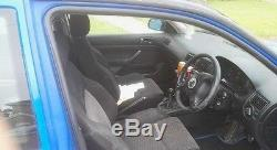 2001 VOLKSWAGEN GOLF MK4 GT TDI BLUE 120K MOT MARCH 17 Spares / Repair
