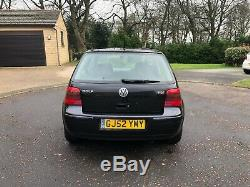 2002 (52) 5 DR MK4 Volkswagen Golf 1.9 GT TDI PD130 FSH ONLY 1 P/OWNR