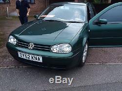 2002 (52) mk4 Volkswagen Golf GT TDI 150pd (arl)