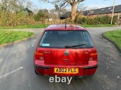 2002 Volkswagen Golf 1.9 TDI SE mk4 manual 5dr hatchback