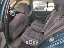 2002 Volkswagen Golf Mk4 1.9 Tdi Se 100ps Diesel Blue Clean & Rust-free