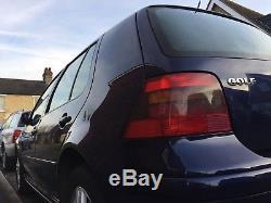2002 Volkswagen VW Golf Mk4 1.9 TDi 130bhp ASZ 60MPG 6 speed FSH NO DPF