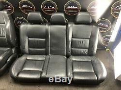 2002 Vw Volkswagen Golf Mk4 Gti Tdi Set Of Black Leather Interior Seats Heated
