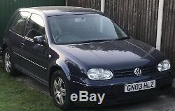 2003/03 Volkswagen Golf 1.9 GT TDi 150Bhp Mk4