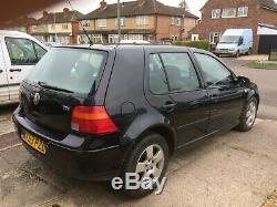 2003 MK4 VW Golf 1.9 TDI With MOT, Spares or Repair (ATD engine code) PD100