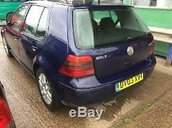 2003 VW VOLKSWAGEN GOLF MK4 1.9TDI 150 bhp ARL GTI GTTDI 130,000 miles 5dr