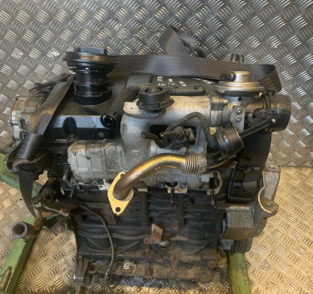 2003 Vw Golf Mk4 1.9 Tdi Diesel Engine + Injectors Manual 105k Atd