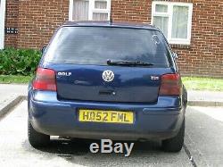 2003 Vw Golf Mk 4 1.9 Tdi
