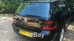 2004 Volkswagen VW Golf Mk4 GTI TDI 150 Black Magic Pearl 5 Door 6 Speed Manual