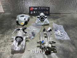4x Brake Caliper Front+rear+slider Vw Golf Mk4 1.9gt Tdi1.8 Gti Turbo 288mm Disc