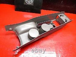 99-05 Vw Golf Mk4 Front Center Floor Parking E Brake Cup Holder Console Gray Oem