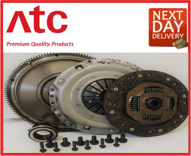 Audi A1 Clutch Kit And Flywheel Solid Mass (8x1, 8xk) 1.6 Tdi 2010 To 15 Cayb-c