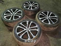 Alloy Wheels 4x Set 17 Inch Et49 Vw Golf Mk7 2.0 Tdi 2012-2016 5g0601025ak