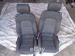 Audi A3 2.0 TDI BKD 8P 04-13 interior seats sport black 3DR front and rear