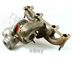 Audi, Seat, VW Turbocharger 721021 (ARL) Hybrid 220-240 HP Billet Wheel
