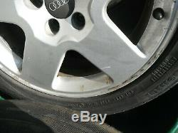 Audi Tt 16 Set4 Alloy Wheels+gud Tyres Golf Mk4 Gti Tdi A3 Vw Skoda 8n0601025c