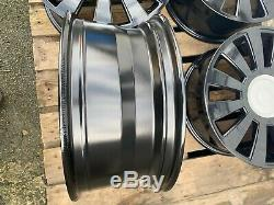 Audi Vw 17 Alloy Wheels 5x112 5x100 Rs8 Style A4 Golf A6 TT A2 Mk4 Gti Tdi