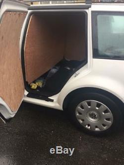 Automatic White MK4 VW Golf 1.9 TDi Estate Van Conversion 12 Months MOT AUTO
