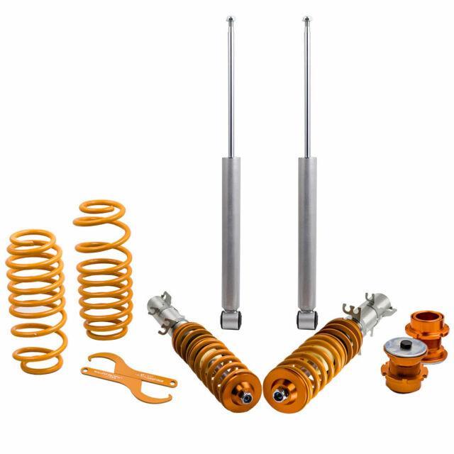 Coilovers Suspension Struts Kit For Vw Golf Mk4 1.4 1.6 1.8 1.8t 1.9sdi 1.9tdi