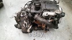 Complete Engine Vw Golf Mk4 1.9 Tdi 115bhp Ajm And 6 Speed Gearbox Drw