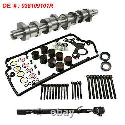 CamShaft Kit Complete 1,9 Tdi VW Audi Skoda Ford Inc. Bearing Lifters 038109101R