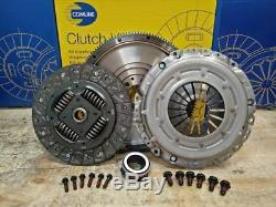 Clutch Kit Fit Seat Ibiza Mk5 2008-2016 1.6 1.9 Tdi 90hp 105hp Diesel Flywheel