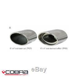 Cobra Sport Volkswagen Golf MK4 1.9 TDI Cat Back Exhaust (N) VW15
