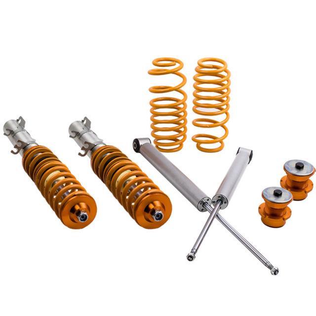 Coilover Suspension Lowering Kit For Audi Tt Mk1 (8n) 98-06 For Vw Golf Mk4