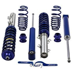 Coilover for VW Golf MK4 1J Skoda Octavia 1U Lowering Spring Strut Shock Blue