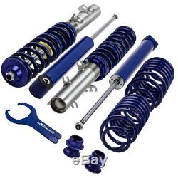 Coilover for VW Golf MK4 1J Skoda Octavia 1U Lowering Spring Strut Shock Kit