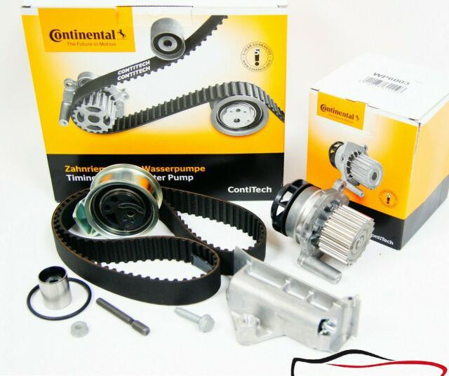Contitech Zahnriemensatz +wasserpumpe Spanndämpfer Audi Vw Skoda 1.9 Tdi Asz Ajm