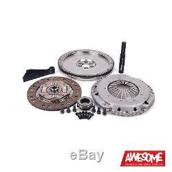 Ecs Tuning Stage 1 Clutch Kit (228mm) 20.5lb Flywheel Golf 4 1.8t/tdi Es250303
