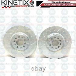 FOR SEAT LEON 1.9 TDI KINETIX FRONT PERFORMANCE BRAKE DISCS MINTEX PADS 312mm