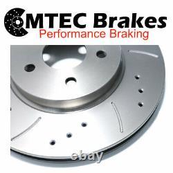 FRONT VENTED BRAKE DISCS FOR VW GOLF MK4 POLO 1.8T 1.9 TDI 2.3 V5 2.8 V6 312mm