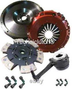 Flywheel And 6 Paddle H'duty Clutch, Csc Vw Golf Mkiv 1.9tdi 1.9 Tdi Arl 4motion