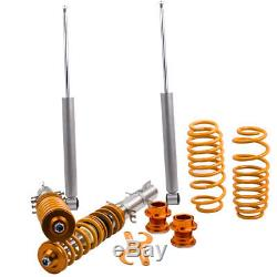 For Seat Leon Mk1 Toledo Mk2 1.4 1.6 1.8 1.8T Coilover Suspension Lowering Kit
