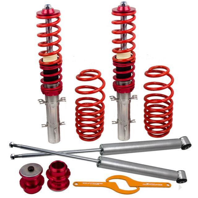 For Vw Golf Mk4 1j Seat Leon Mk1 1m Toledo Mk2 Coilover Suspension Lowering Kit