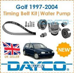 For VW Golf MK4 1.9SDi TDi 1997-2004 Dayco Timing Belt Kit & Water Pump OE Spec