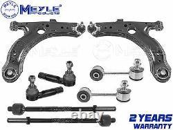 For Vw Golf 1.9 Gt Tdi Front Wishbone Arms Links Inner Outer Rack Tie Rod Ends