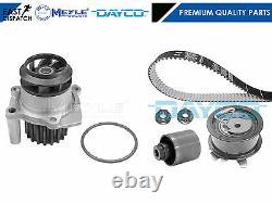 For Vw Golf 1.9 Tdi 2002- Dayco Timing Belt Kit & Meyle Water Pump Engine Asz