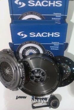 For Vw Golf 1.9tdi 1.9 Tdi 130 Asz Sachs Dmf, Carbon Nitride Clutch & Csc