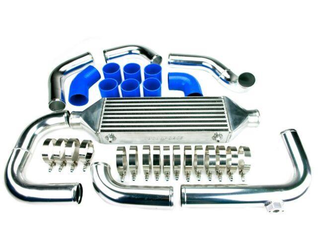 Front Mount Intercooler Kit For Vw Golf Mk4 Bora 1.9 Tdi 1998-2003 Blue