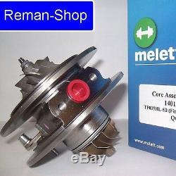 Genuine Melett UK turbocharger cartridge Audi Seat Volkswagen 1.9 TDI 150bhp ARL