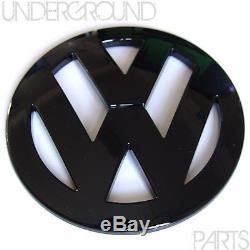 Gloss Black Rear Boot Tailgate Hatch Badge Emblem Vw Volkswagen Golf Mk4 Tdi Gti