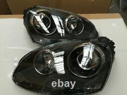 Golf MK5 R32 GTI Style Headlights Projector Bi Xenon GTI TDI 2004 2008 UK