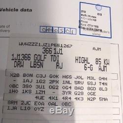 Golf Mk4 1.9 GT TDI 2001