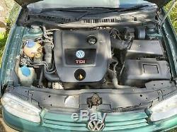 Golf Mk4 GTI TDI 150BHP, New Clutch, Altenator, Cambelt, Tyres Service History