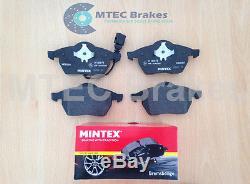 Golf mk4 GT TDi 150 Drilled Brake Discs Front Rear Pads